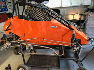 Midget top wing setup