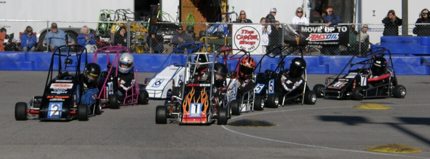 Car hub midget race